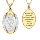 My Daughter I Love You Personalized Diamond Pendant 1162 0127 a main