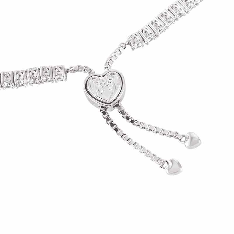Forever Loved Daughter Tennis Bracelet  Bonus Earrings 6472 001 4 6