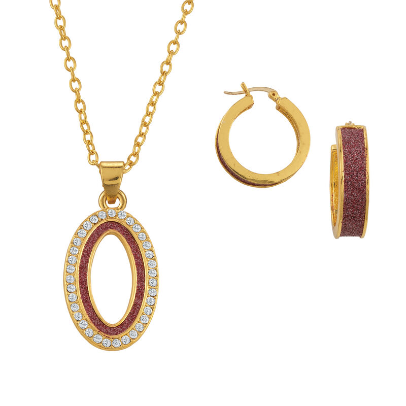 Sparkling Statements Pendant and Earring collection 10028 0015 a main