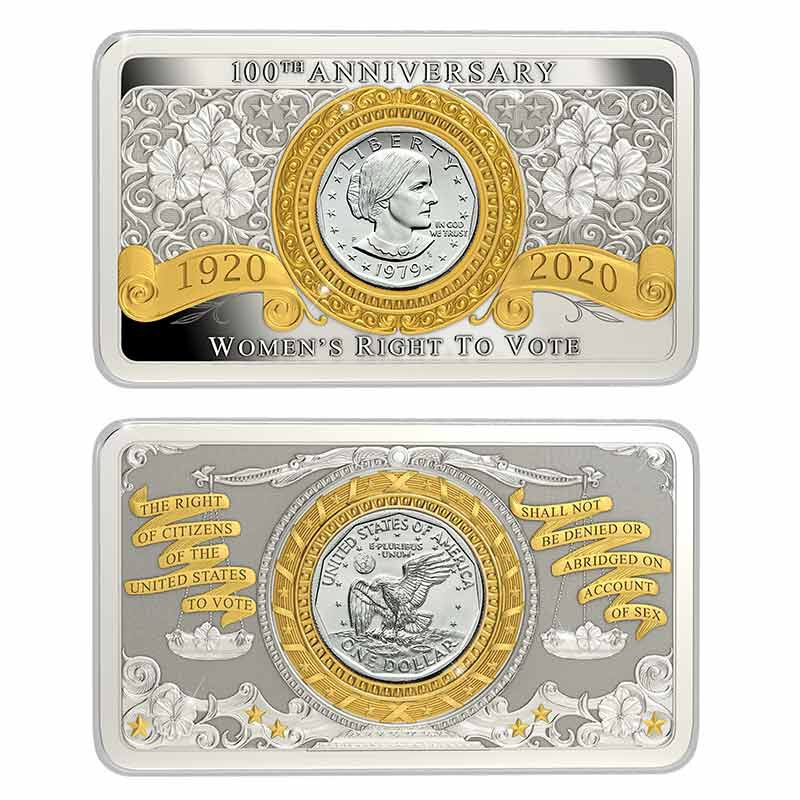 The Susan B Anthony Dollar Commemorative Mint Mark Set 6698 001 2 2