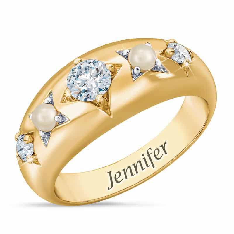 Royal Radiance Personalized Birthstone Ring 1906 001 1 4