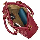Personalized Initial Red Handbag 2209 001 3 4