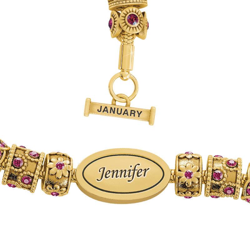 Beauty Personalized Charm Bracelet 2406 001 4 1