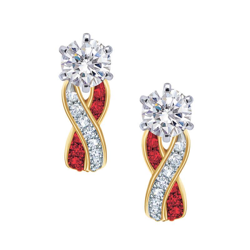 Birthstone Swirl Earrings 6503 0033 a main