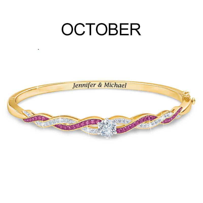 Birthstone Swirl Bracelet 5821 002 2 11
