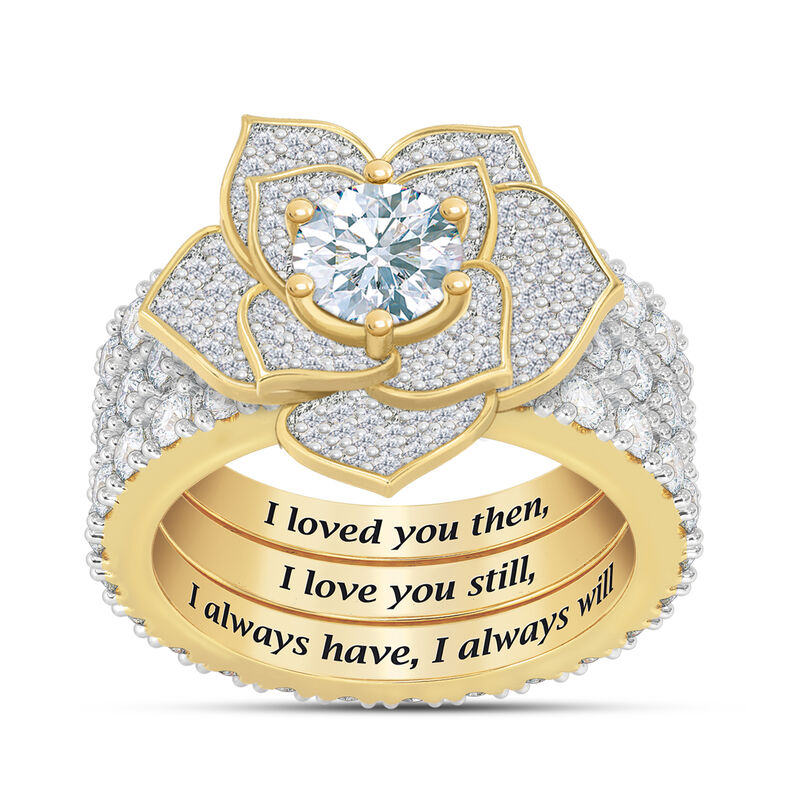 The Forever Rose Ring Set 10187 0012 a main
