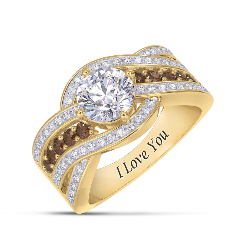 I Love You Mocha Swirl Ring 6836 0015 a main