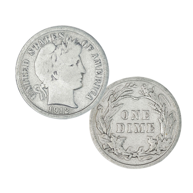 20 Years of Barber Silver Dimes 4543 0030 b coin