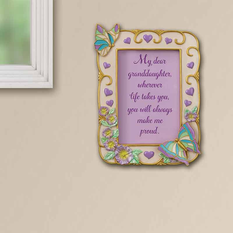 My Granddaughter Butterfly Photo Frame 6034 001 5 5
