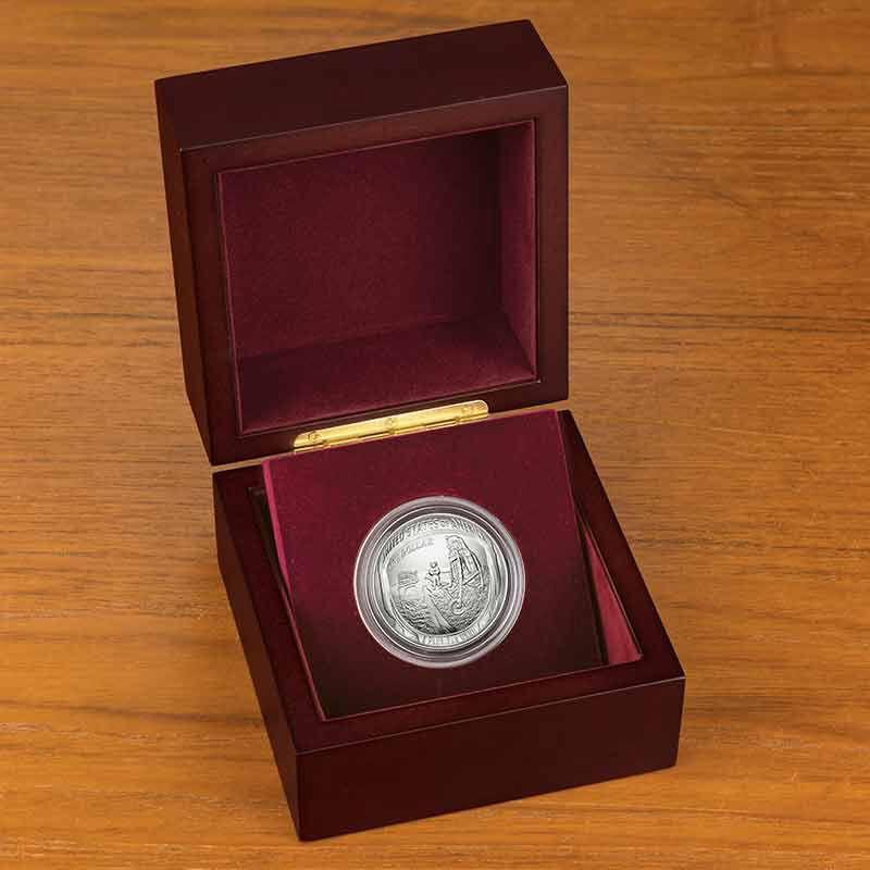The Apollo 11 50th Anniversary Silver Dollar 2667 001 8 2