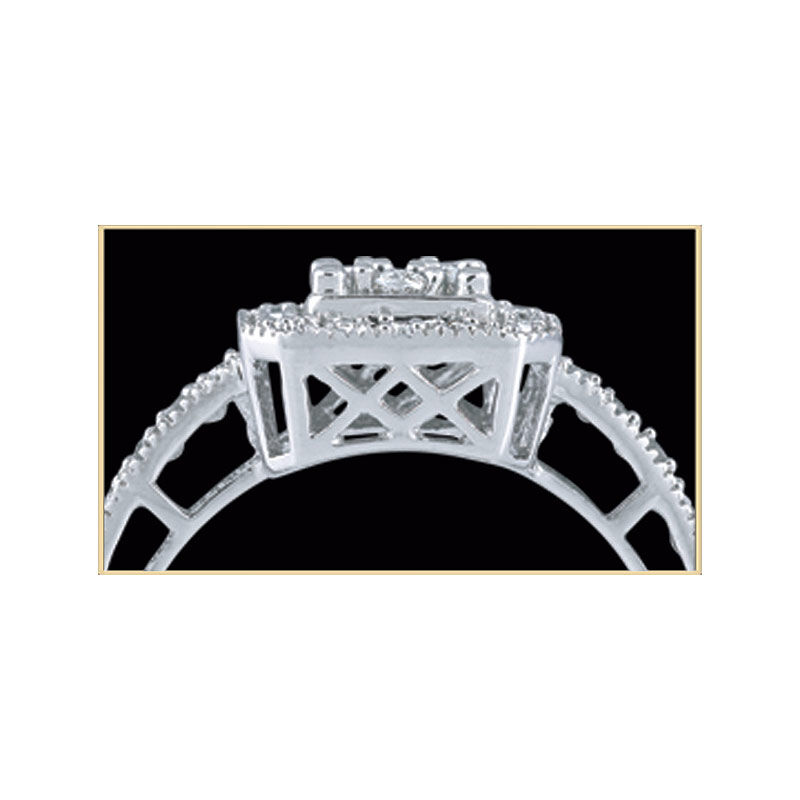 Square Flair Diamond Commitment Ring 9821 001 6 2
