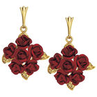 A Dozen Roses Earrings 8355 005 3 1