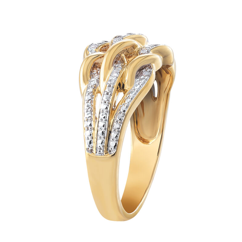 Personalized Diamond Anniversary Ring 6500 0036 b sideview