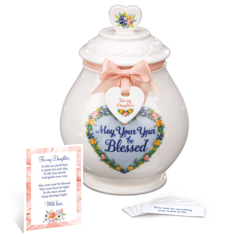 A Year of Blessings Porcelain Jar with Card 6538 001 6 1