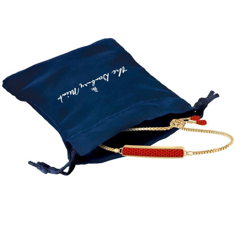 Birthstone Bolo Bracelet 6501 0027 m gift pouch