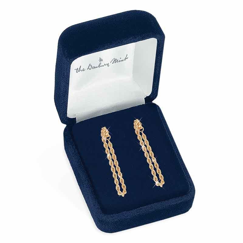 Glimmers of Gold 14kt Hoop Earrings 6206 001 7 2
