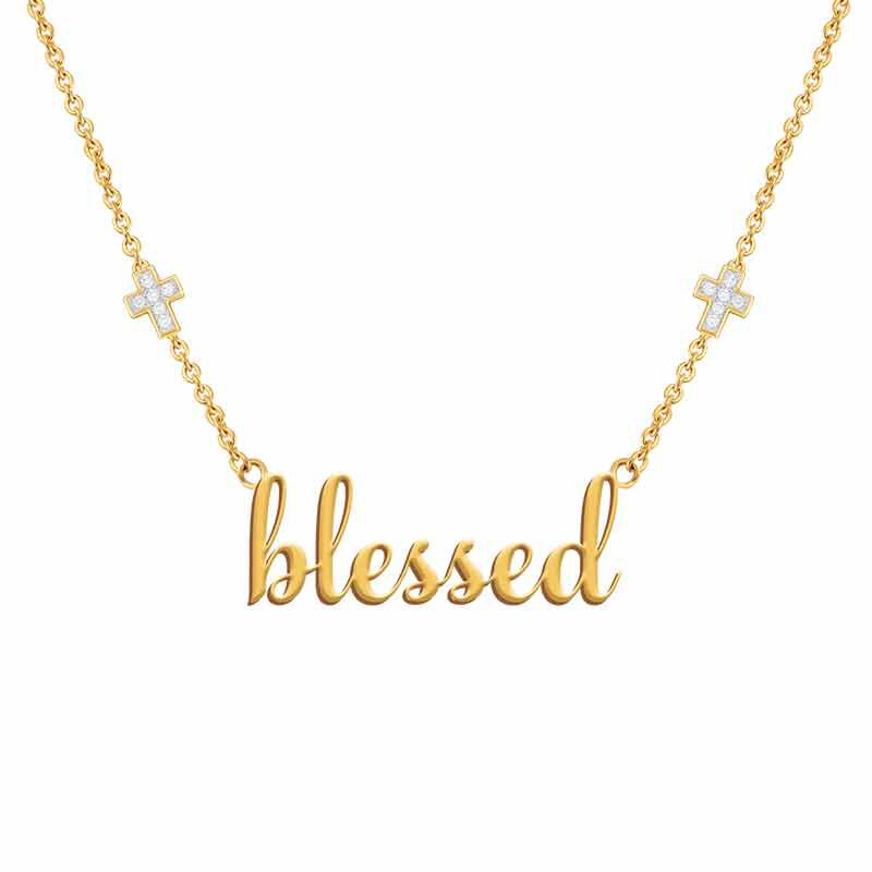 Blessed Diamond Necklace 6466 001 2 2