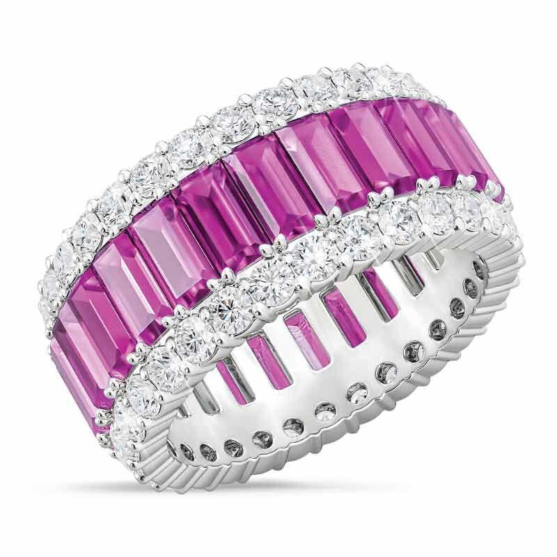 Birthstone Beauty Eternity Ring 2811 001 3 10