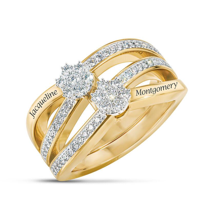 You Me Forever Secret Message Diamond Ring 10206 0019 a main