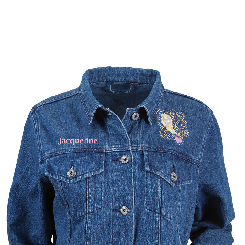 Touched by an Angel Denim Jacket 6681 0011 b front