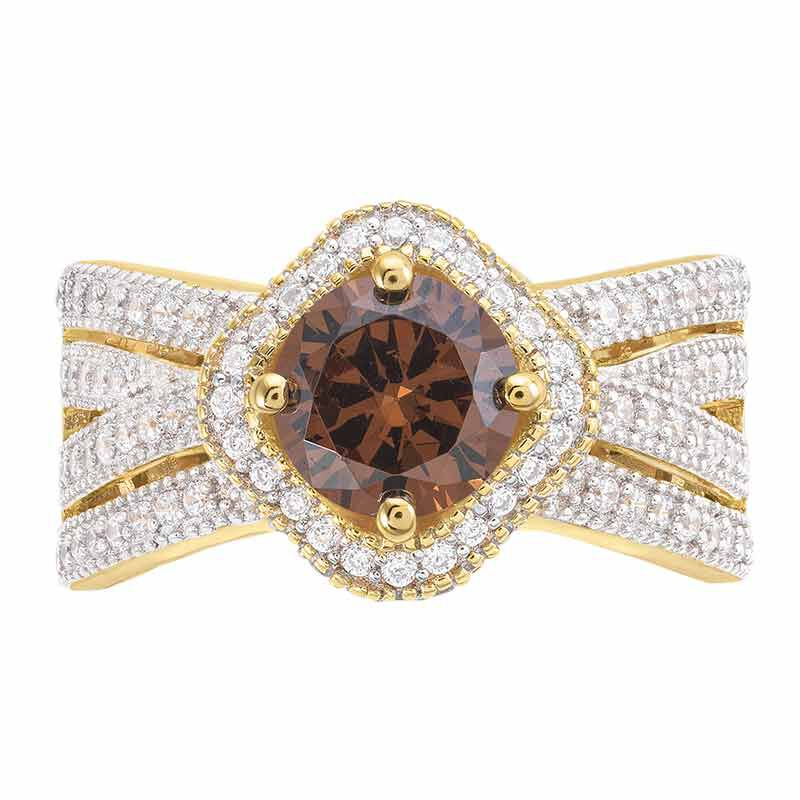 Mocha Majesty Diamonisse Ring 6372 001 5 2