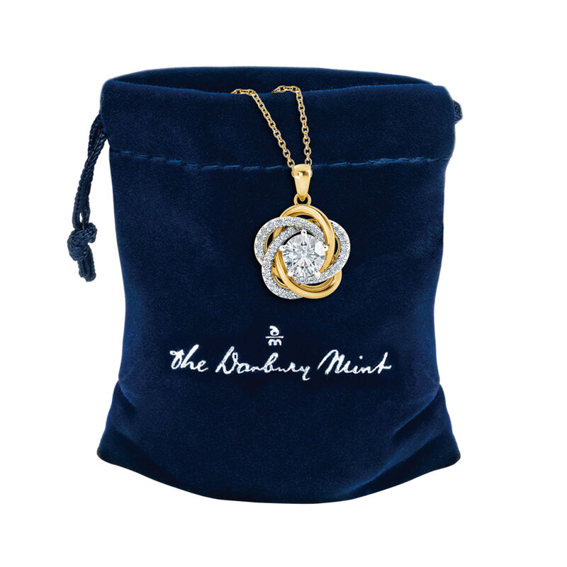 Perfectly Paired Love Knot Pendant 4922 0056 g gift pouch