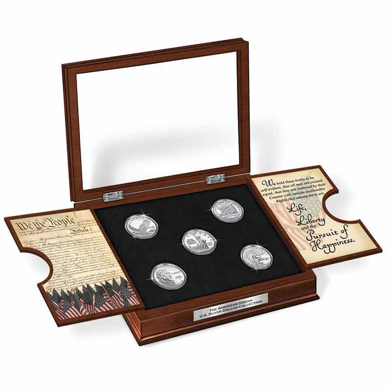 The American Dream US Silver Dollar Collection 6660 0024 f display1