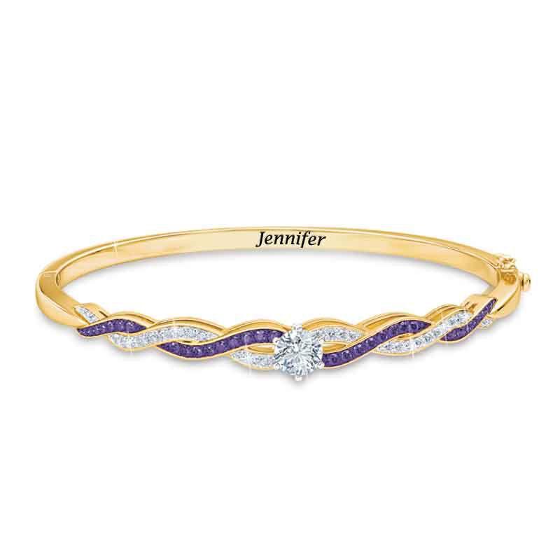 Birthstone Swirl Bracelet 5821 001 4 2