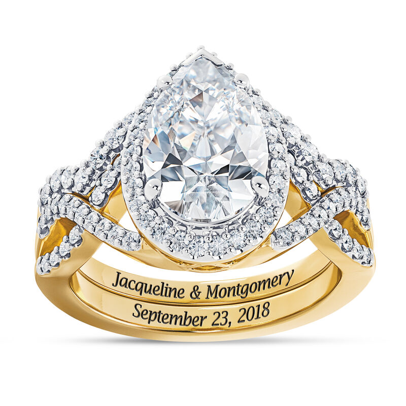The Diamonisse Bridal Set 2775 0017 a main