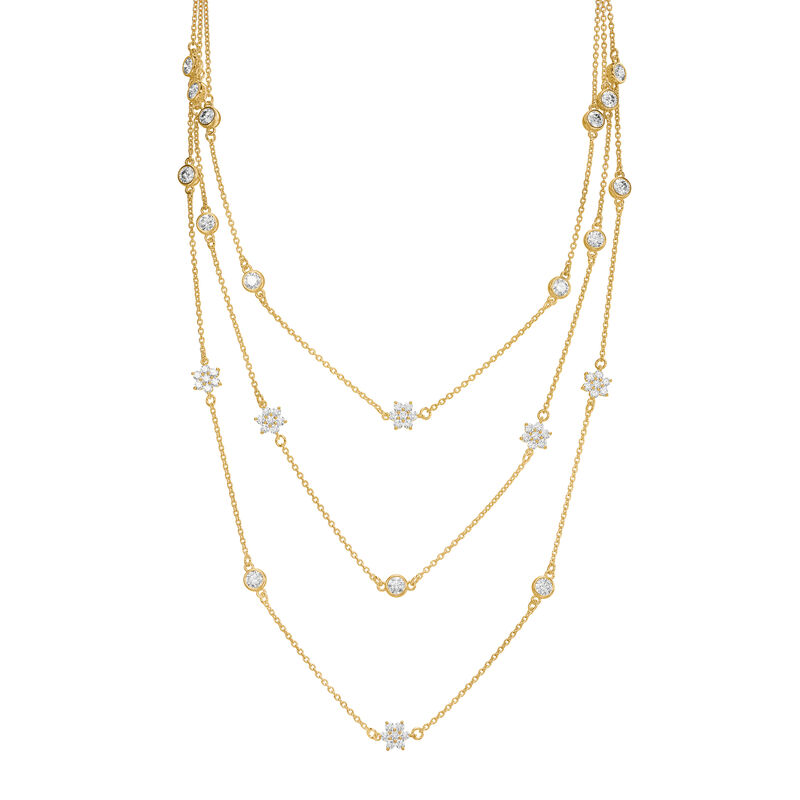 Layers of Luxury Diamonisse Necklace 6596 0015 a main