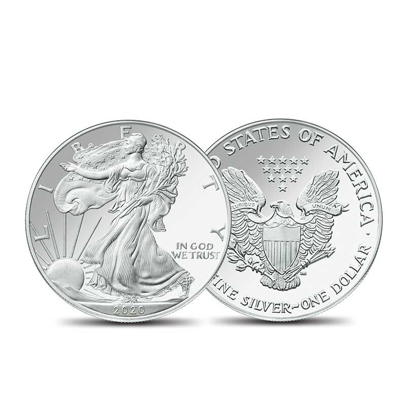 The American Silver Eagles Collector Roll 2783 009 0 2