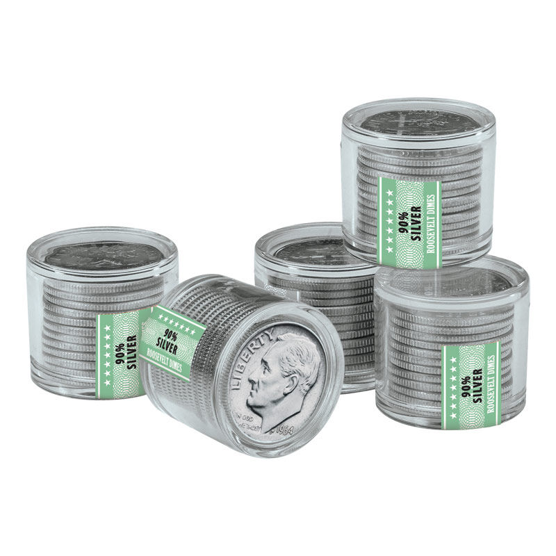Roosevelt Silver Dime Collector Rolls 4577 001 3 2