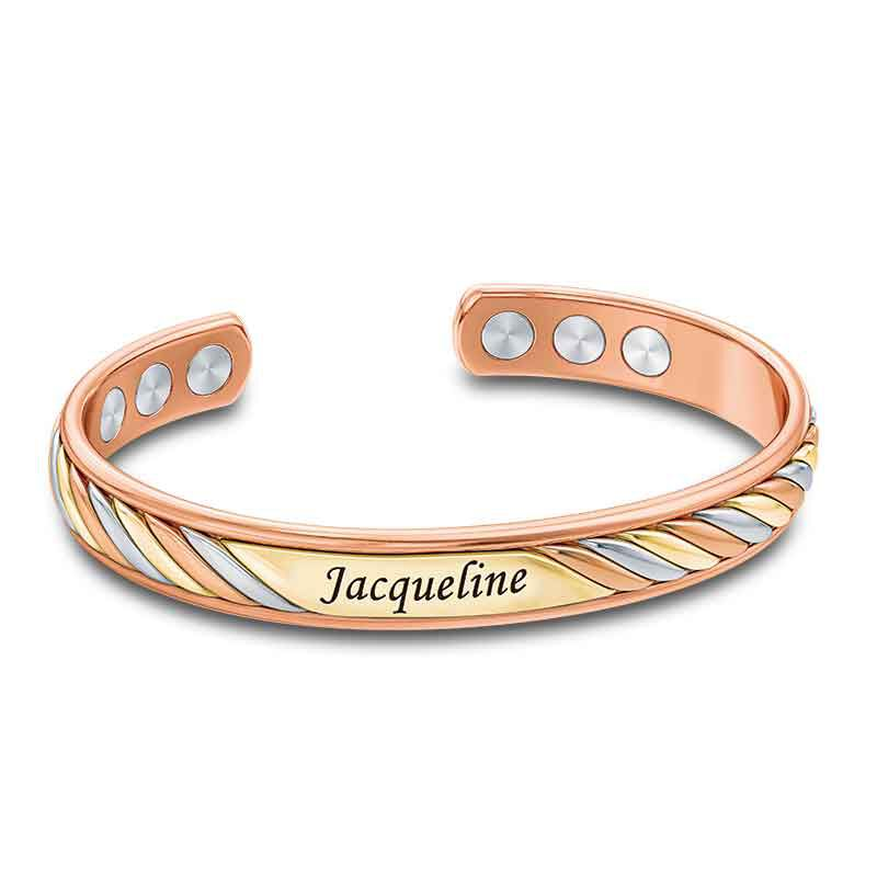 Copper Trinity Personalized Bangle 6776 001 7 1