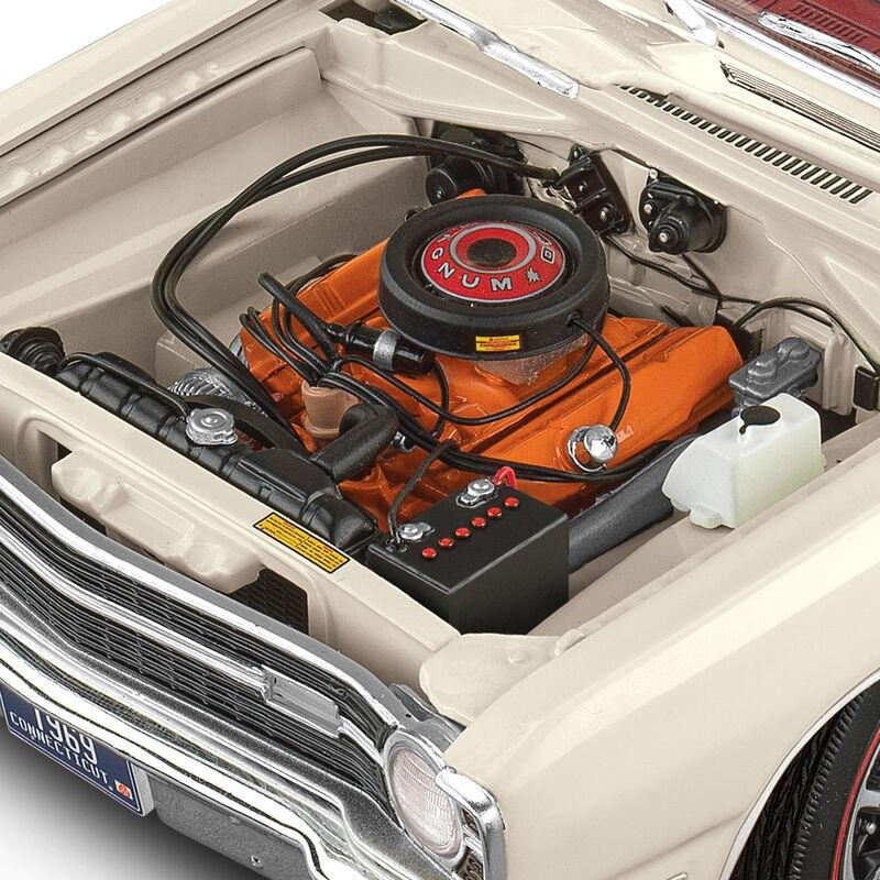1969 Dodge Dart GTS 4626 0378 f engine