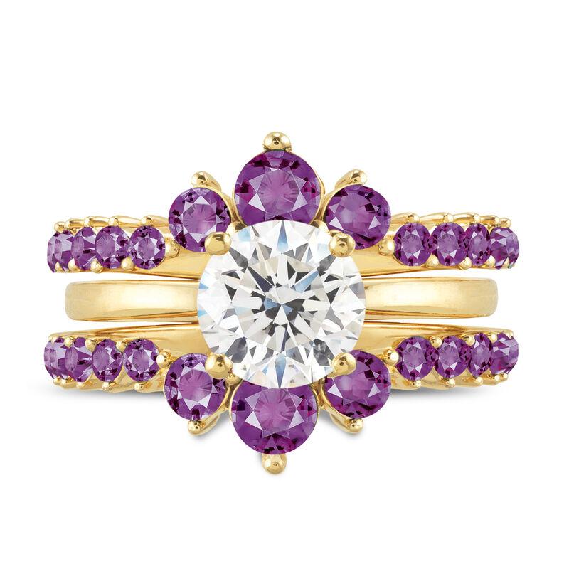 Birthstone Ring Set 6214 0017 b february