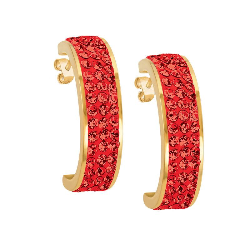 Birthstone Fire Earrings 10594 0027 g july