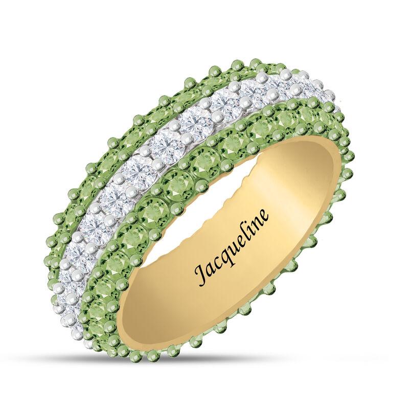 Birthstone Beauty Eternity Ring 6911 0013 h august