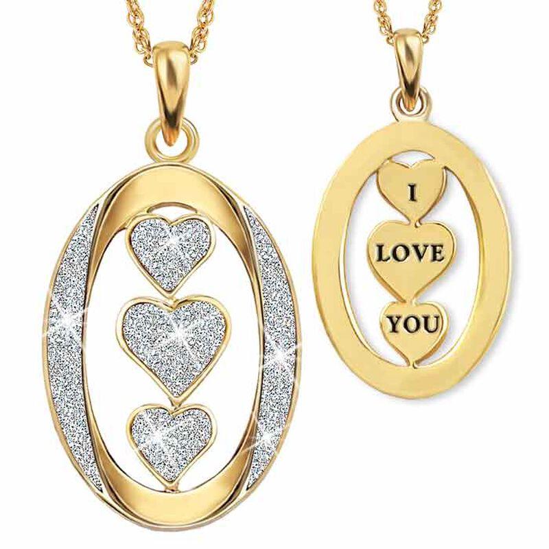 I Love You Diamond Pendant 9406 002 7 1