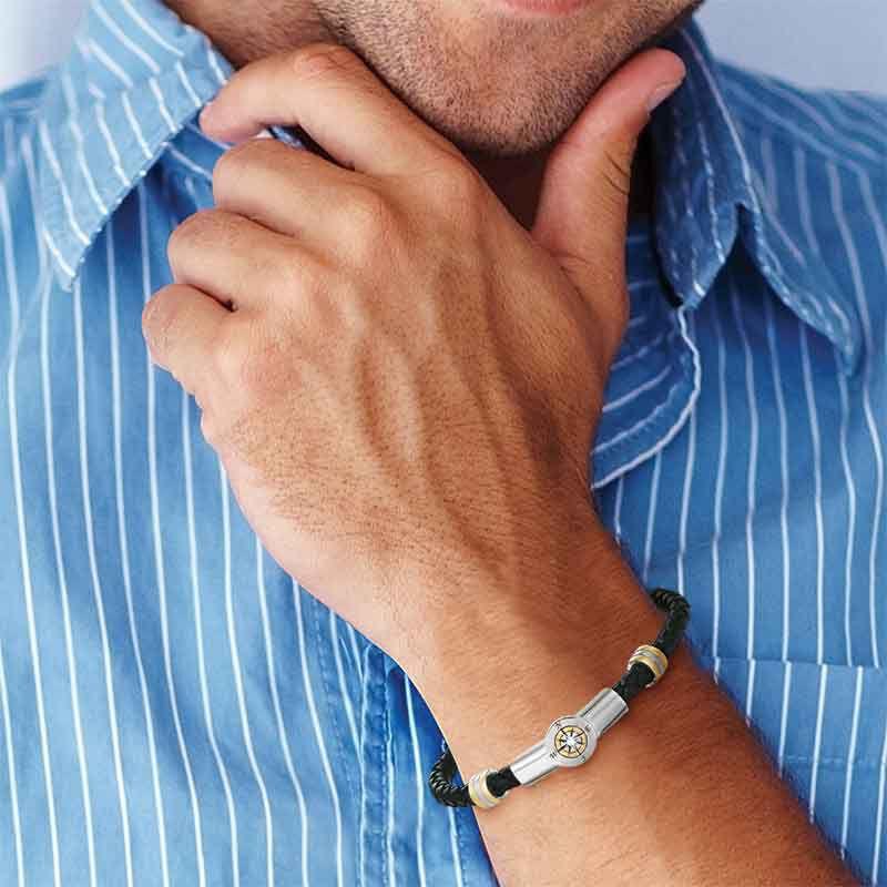 Grandson Leather Bracelet 5702 001 8 4