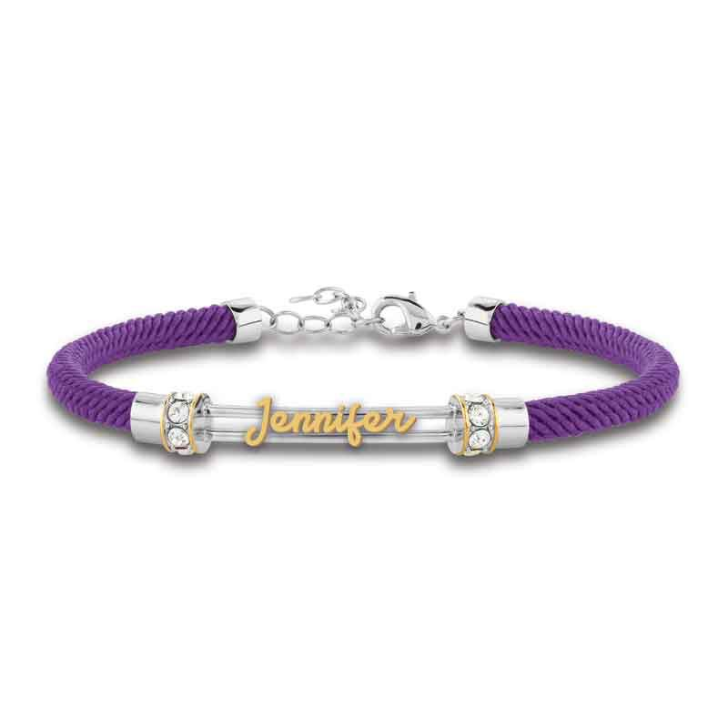 Personalized Birthstone Rope Bracelet 4947 005 7 4