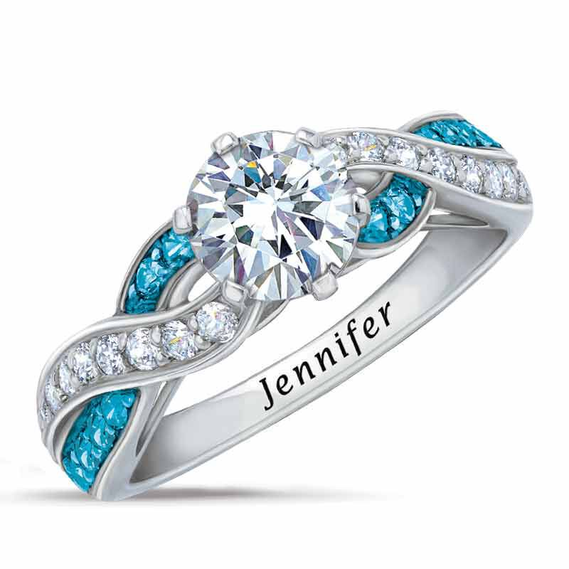 Ocean Swirl Personalized Ring 5273 002 5 1
