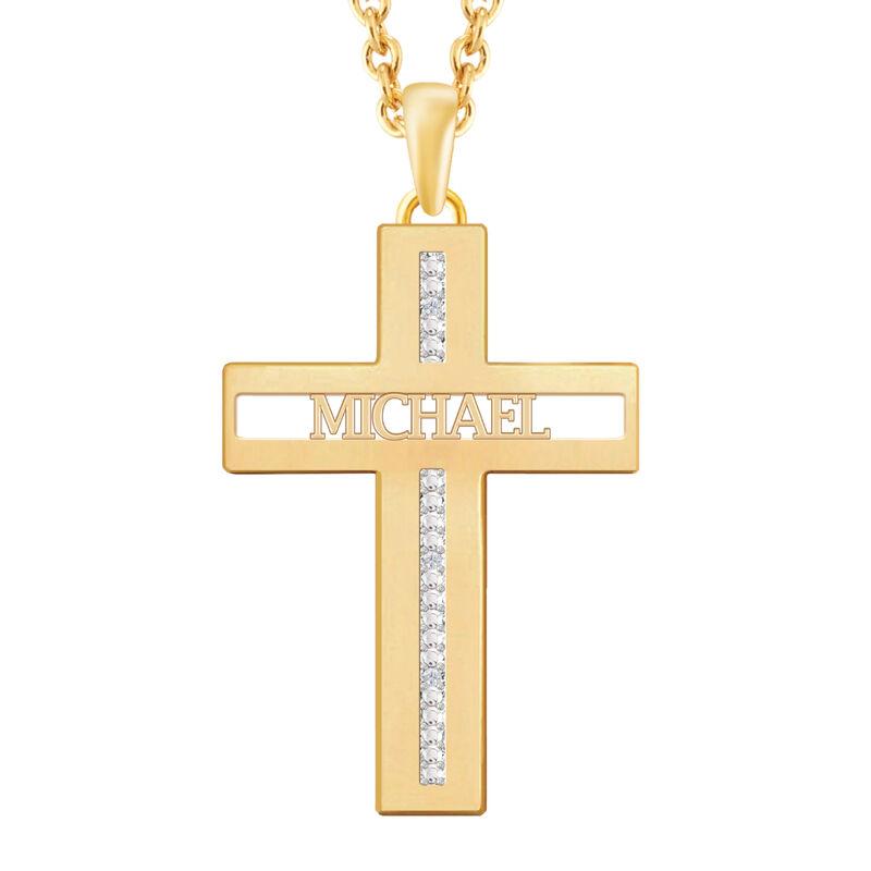 The Personalized Custom Cut Cross 10492 0012 a main