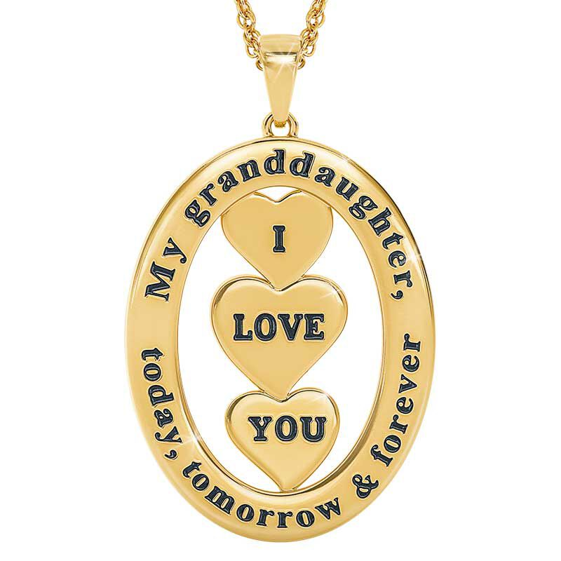 Today Tomorrow Forever Granddaughter Pendant 6205 001 8 3
