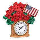 Seasonal Sensations Figural Clocks 10167 0016 c july