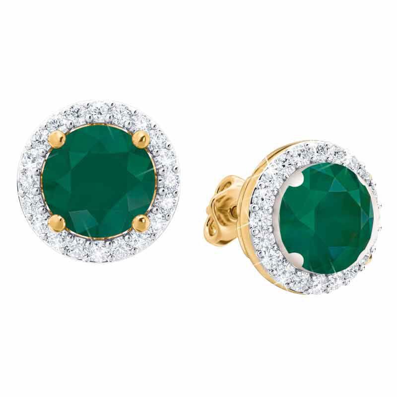 Birthstone Stud Earrings 3359 014 2 5