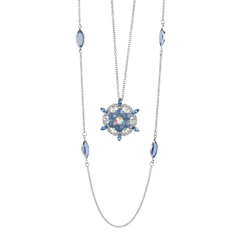 Layers of Sparkle Crystal Necklace Collection 10027 0016 a main