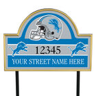 NFL Pride Personalized Address Plaques 5463 0405 a lions