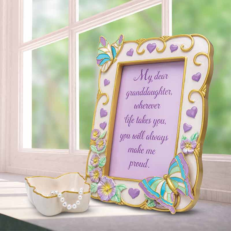 My Granddaughter Butterfly Photo Frame 6034 001 5 4