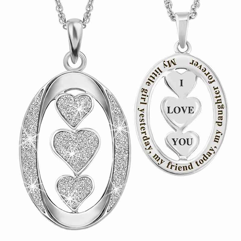 My Daughter I Love You Diamond Pendant 1140 001 7 1
