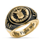Military Onyx Diamond Ring 6282 0048 a main
